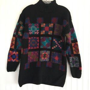 L.L. Bean long 💯% wool sweater SIZE SMALL